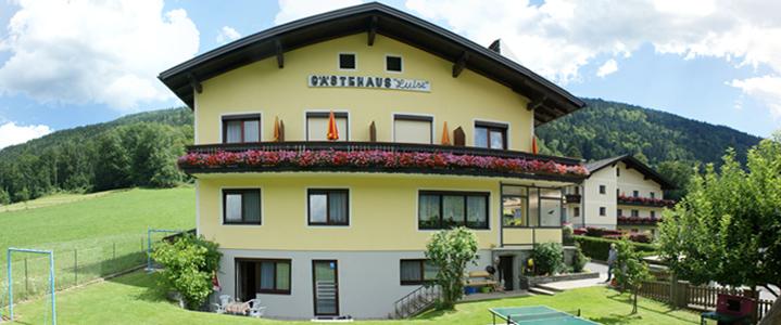 Urlaub im Gästehaus Luise am Ossiachersee in Alt Ossiach